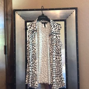 used buttoned blouse